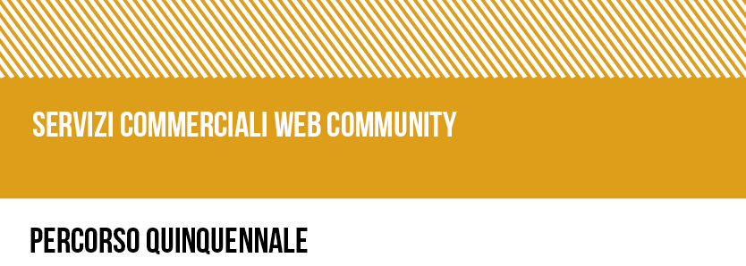 SERVIZI COMMERCIALI WEB COMMUNITY