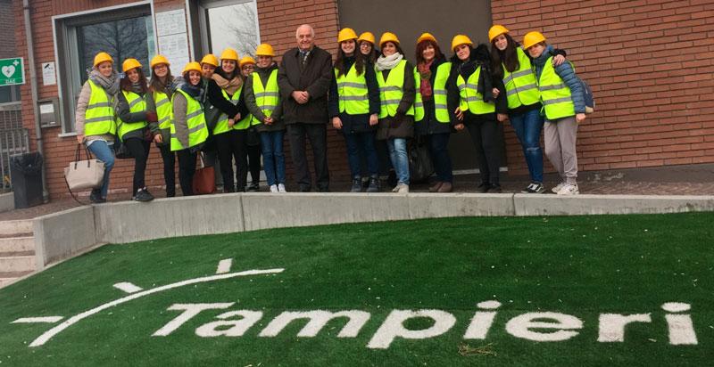 Visita alla Tampieri SpA – Progetto Alternanza Scuola-Lavoro